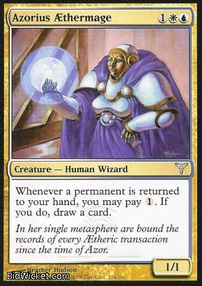Azorius AEthermage, Dissension, Magic the Gathering