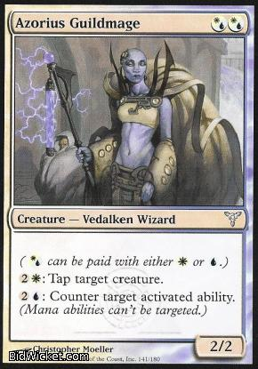 Azorius Guildmage, Dissension, Magic the Gathering