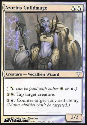Azorius Guildmage, Dissension, Magic the Gathering