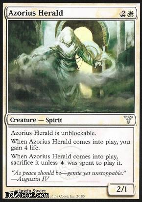 Azorius Herald, Dissension, Magic the Gathering