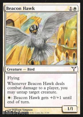 Beacon Hawk, Dissension, Magic the Gathering