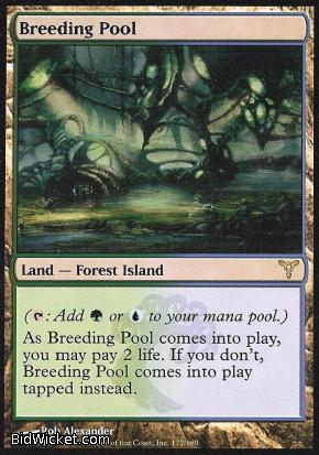 Breeding Pool, Dissension, Magic the Gathering