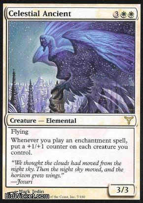Celestial Ancient, Dissension, Magic the Gathering