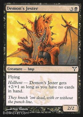 Demon's Jester, Dissension, Magic the Gathering