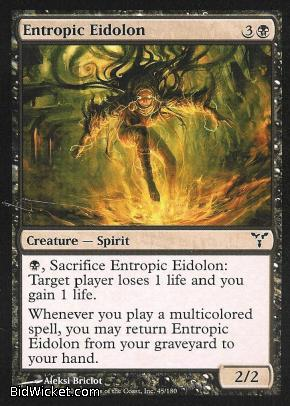 Entropic Eidolon, Dissension, Magic the Gathering