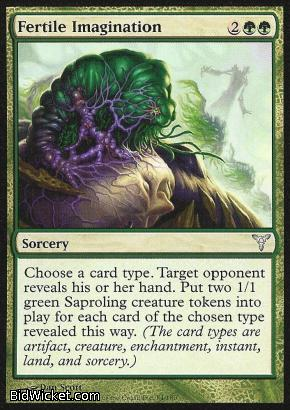 Fertile Imagination, Dissension, Magic the Gathering