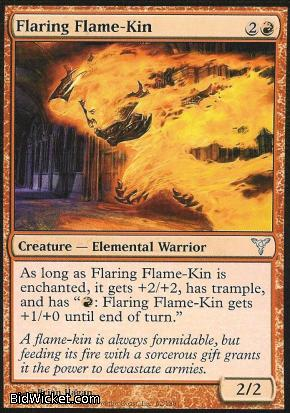 Flaring Flame-Kin, Dissension, Magic the Gathering