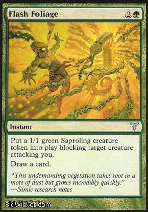 Flash Foliage, Dissension, Magic the Gathering