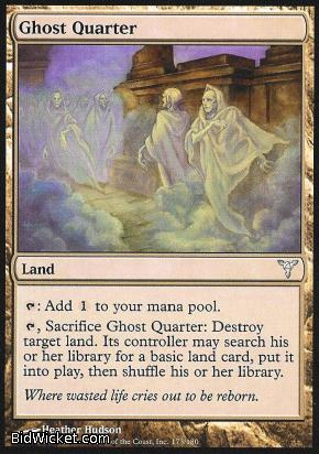 Ghost Quarter, Dissension, Magic the Gathering