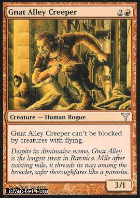 Gnat Alley Creeper, Dissension, Magic the Gathering