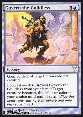 Govern the Guildless, Dissension, Magic the Gathering