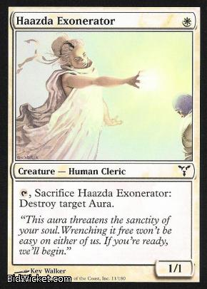 Haazda Exonerator, Dissension, Magic the Gathering