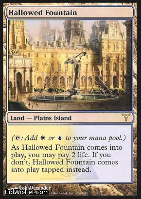 Hallowed Fountain, Dissension, Magic the Gathering