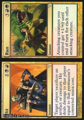 Hit / Run, Dissension, Magic the Gathering