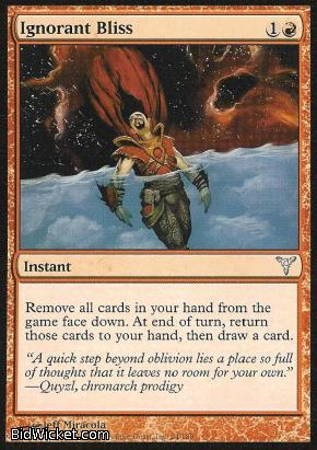 Ignorant Bliss, Dissension, Magic the Gathering