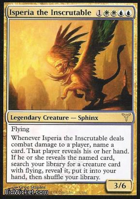 Isperia the Inscrutable, Dissension, Magic the Gathering