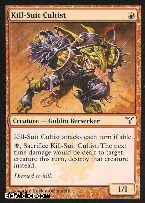 Kill-Suit Cultist, Dissension, Magic the Gathering