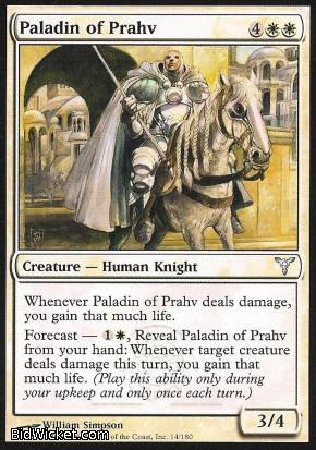 Paladin of Prahv, Dissension, Magic the Gathering