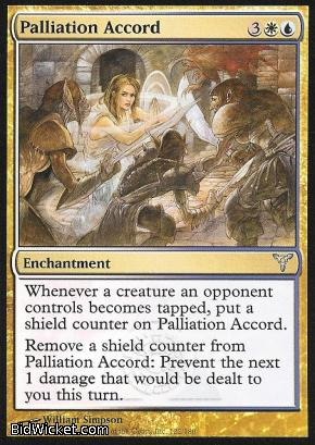 Palliation Accord, Dissension, Magic the Gathering
