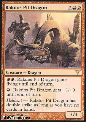 Rakdos Pit Dragon, Dissension, Magic the Gathering