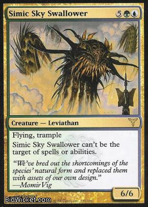 Simic Sky Swallower, Dissension, Magic the Gathering