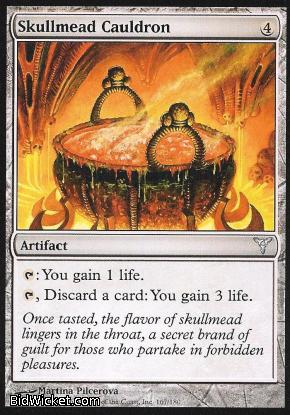Skullmead Cauldron, Dissension, Magic the Gathering