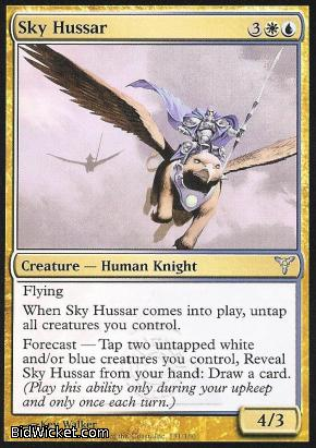 Sky Hussar, Dissension, Magic the Gathering