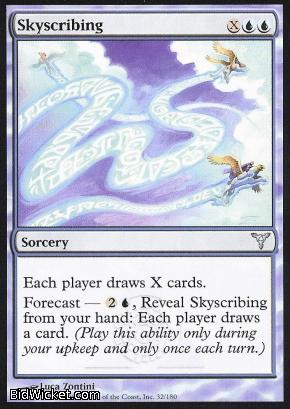 Skyscribing, Dissension, Magic the Gathering