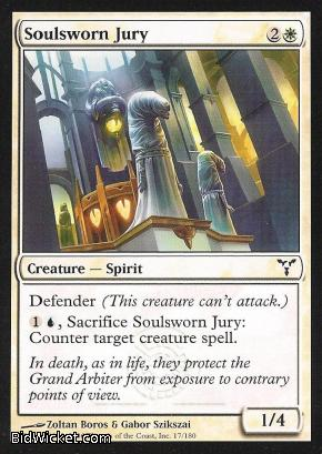 Soulsworn Jury, Dissension, Magic the Gathering