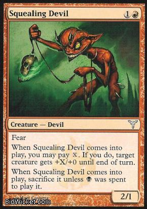 Squealing Devil, Dissension, Magic the Gathering