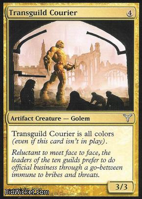 Transguild Courier, Dissension, Magic the Gathering