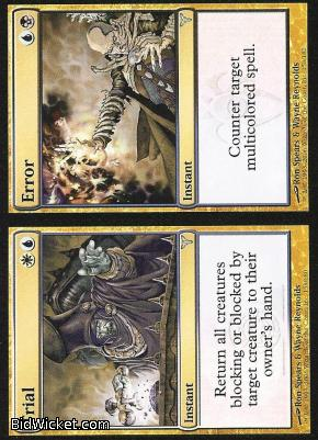 Trial / Error, Dissension, Magic the Gathering