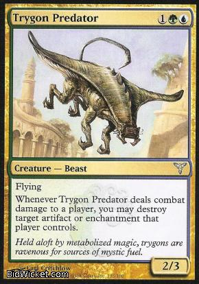 Trygon Predator, Dissension, Magic the Gathering