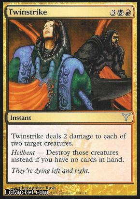 Twinstrike, Dissension, Magic the Gathering
