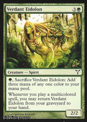 Verdant Eidolon, Dissension, Magic the Gathering