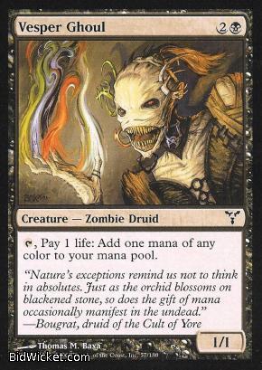 Vesper Ghoul, Dissension, Magic the Gathering