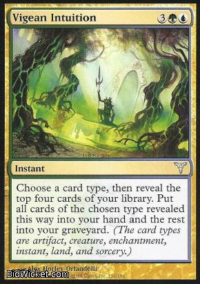 Vigean Intuition, Dissension, Magic the Gathering