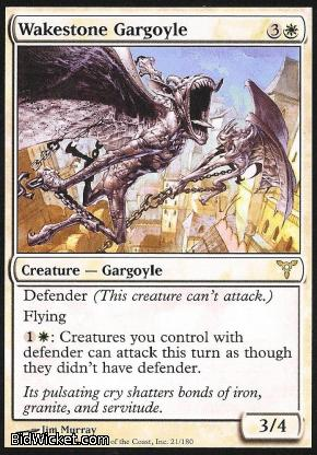 Wakestone Gargoyle, Dissension, Magic the Gathering