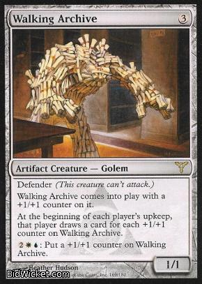 Walking Archive, Dissension, Magic the Gathering