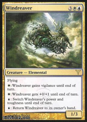 Windreaver, Dissension, Magic the Gathering