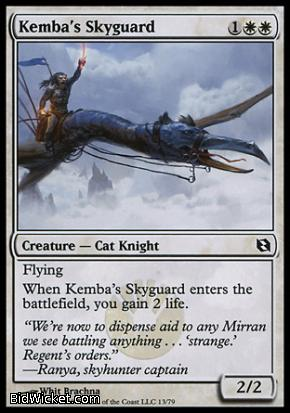 Kemba's Skyguard, Duel Decks: Elspeth vs Tezzeret, Magic the Gathering