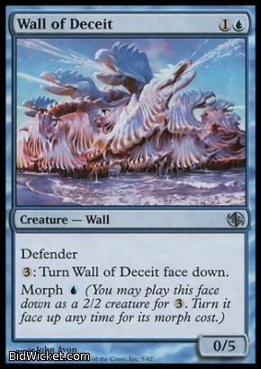 Wall of Deceit, Duel Decks: Jace vs Chandra, Magic the Gathering