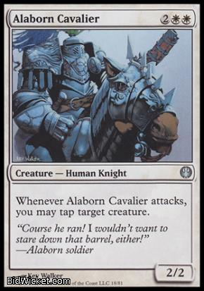 Alaborn Cavalier, Duel Decks: Knights vs Dragons, Magic the Gathering