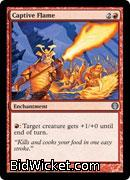 Captive Flame, Duel Decks: Knights vs Dragons, Magic the Gathering