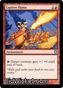Captive Flame, Duel Decks: Knights vs Dragons, Magic the Gathering