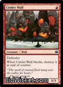 Cinder Wall, Duel Decks: Knights vs Dragons, Magic the Gathering