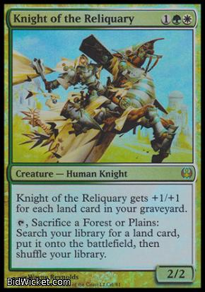 Knight of the Reliquary, Duel Decks: Knights vs Dragons, Magic the Gathering