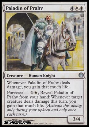Paladin of Prahv, Duel Decks: Knights vs Dragons, Magic the Gathering