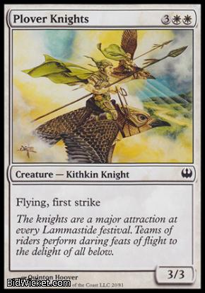 Plover Knights, Duel Decks: Knights vs Dragons, Magic the Gathering
