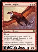 Thunder Dragon, Duel Decks: Knights vs Dragons, Magic the Gathering